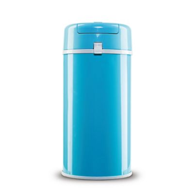Bubula Steel Extra Large Diaper Pail in Blue