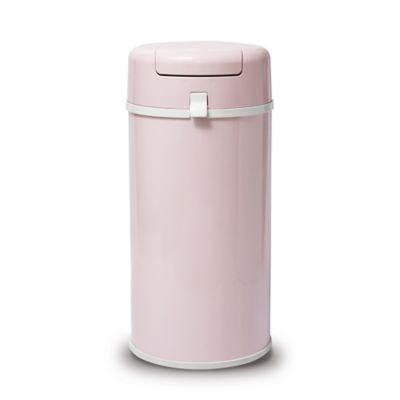Bubula Steel Extra Large Diaper Pail in Pink
