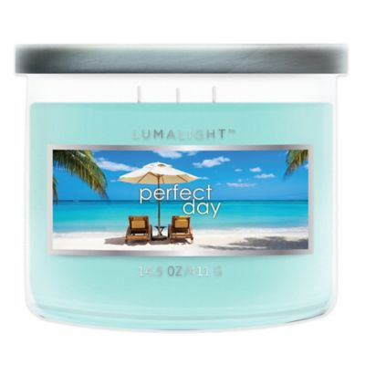 3-Wick Perfect Day Candle Jar
