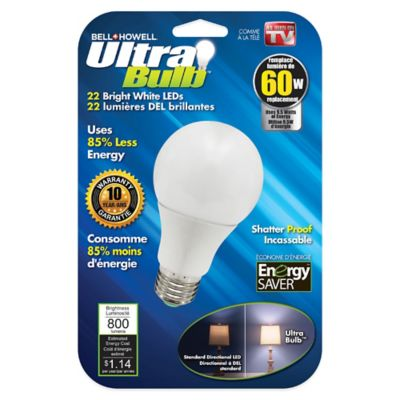 Bell + Howell® 60-Watt LED Ultra Bulb