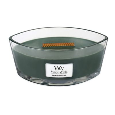 WoodWick® HearthWick Flame® Evening Bonfire Candle