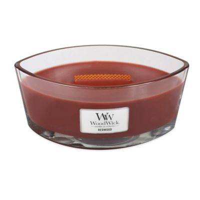 WoodWick® HearthWick Flame® Redwood Large Candle