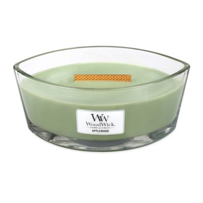 WoodWick® HearthWick Flame® Applewood Large Candle