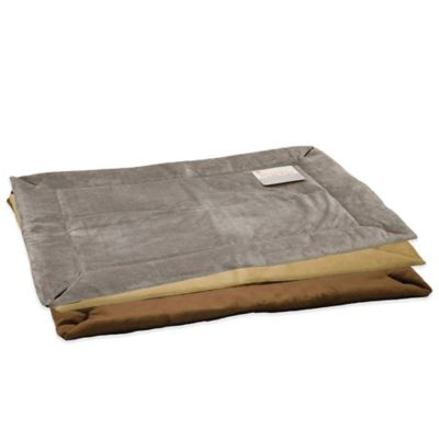 K & H Self-Warming Small Crate Pad in Mocha