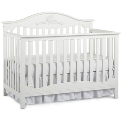 Fisher-Price® Mia 4-in-1 Convertible Crib in Snow White