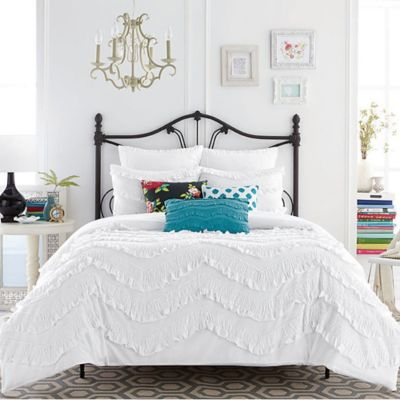 Anthology™ Lydia Full/Queen Duvet Cover in White