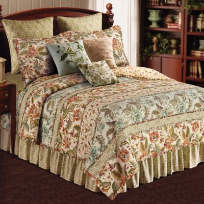 Louise Reversible Twin Quilt in Multi
