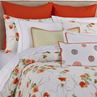 Vera Wang™ Orange Blossoms European Pillow Sham
