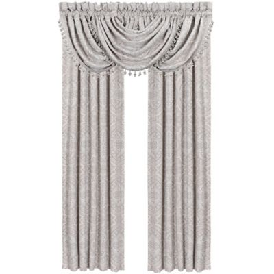 J. Queen New York™ Colette Waterfall Window Valance in Blue