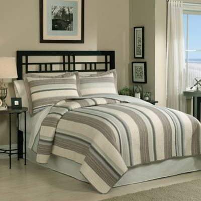 East Hampton Full/Queen Quilt Set in Multi