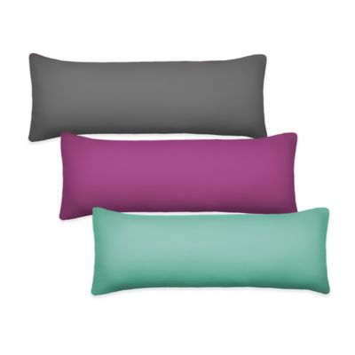 Bedding Essentials 300-Thread Count Body Pillow Cover in Purple