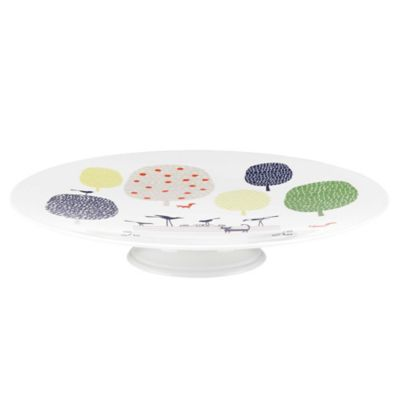 kate spade new york Hopscotch Drive About Town Footed Cake Plate