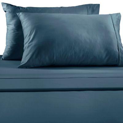Lakeside Standard Pillowcases in Light Blue (Set of 2)