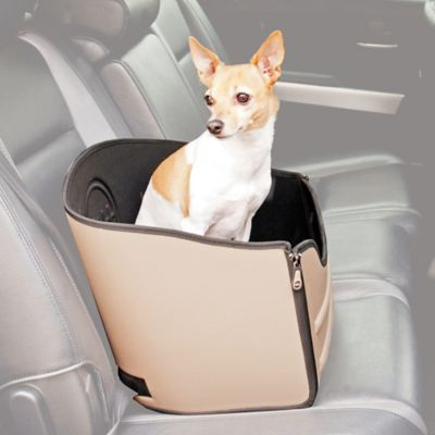 Pet Travel Booster Seat in Tan