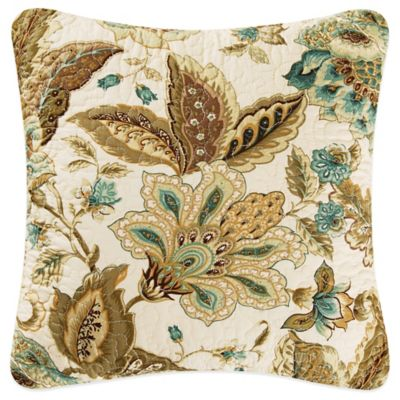 Louise Square Throw Pillow in Natural