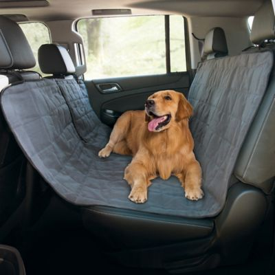 Pawslife™ Quilted Pet Hammock Car Seat Cover in Grey