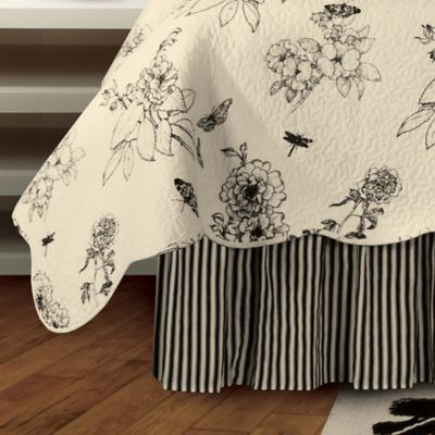 Dandridge Botanical Queen Bed Skirt