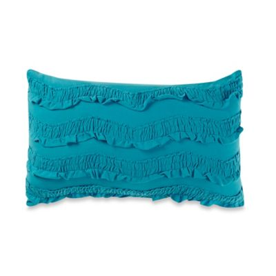 Anthology™ Lydia Oblong Throw Pillow in Teal