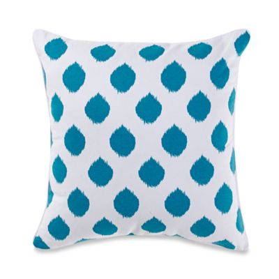 Anthology™ Lydia Square Throw Pillow in Teal