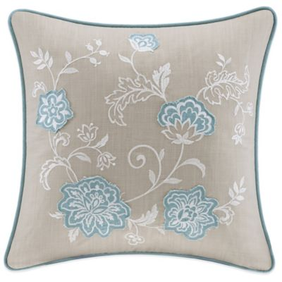 Harbor House™ Landon Embroidered Square Throw Pillow