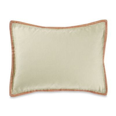 Vera Wang™ Orange Blossoms Stitched Breakfast Throw Pillow