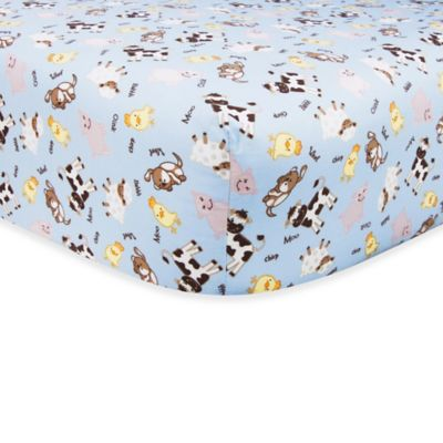 Yellow Baby Crib Fitted Sheet