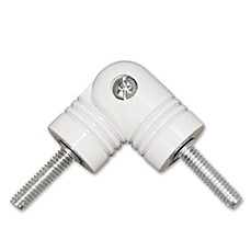 ReSolutions Satin Corner Connector in White