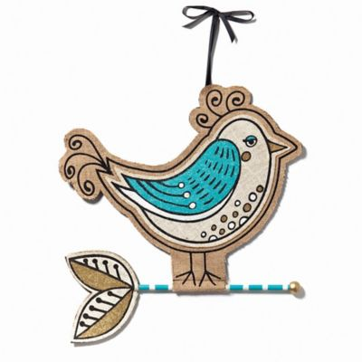 Fancy Bird Jute Wall Décor