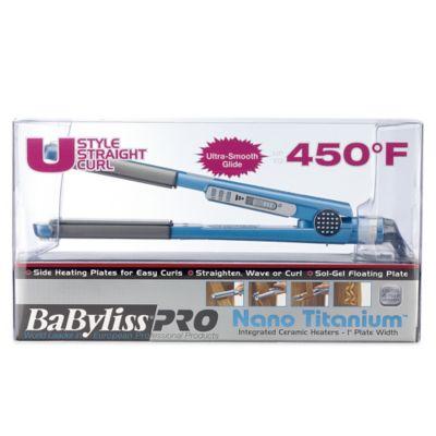 BaByliss Pro Nano 1-Inch Titanium U Styler