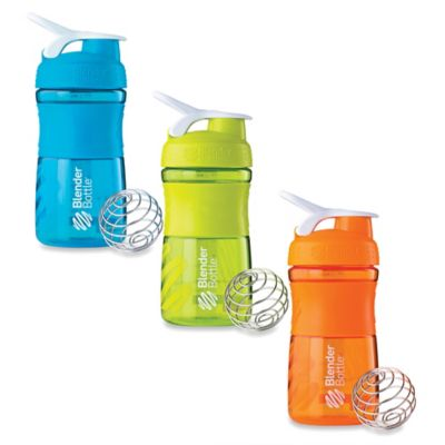 Green/White Water Bottles