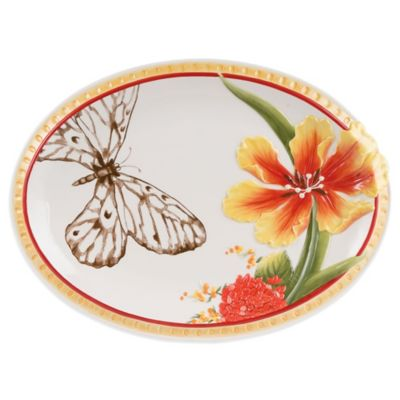 Fitz and Floyd® Flower Market Oval Platter
