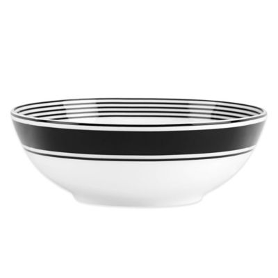 Black Soup Cereal Bowl