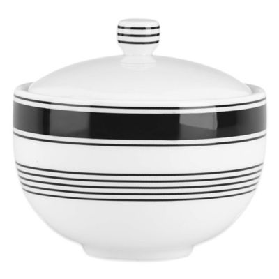 kate spade new york Concord Square Covered Sugar Bowl