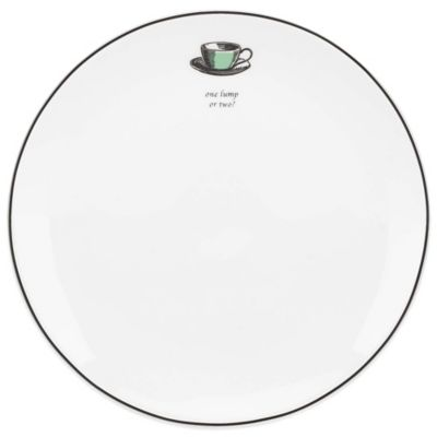 kate spade new york Concord Square Cause a Stir Teacup Accent Plate
