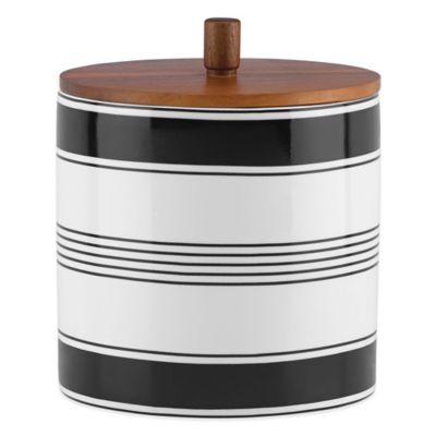 kate spade new york Concord Square Large Canister with Lid
