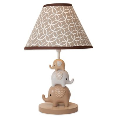 Lambs & Ivy® Oatmeal Cookie Lamp Base with Shade