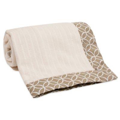 Lambs & Ivy® Oatmeal Cookie Blanket