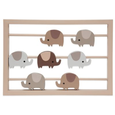 Lambs & Ivy® Oatmeal Cookie Elephant Wall Décor