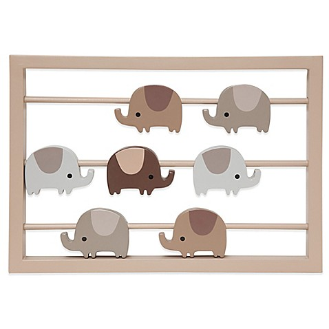 Lambs ivy oatmeal cookie elephant wall d cor for Beyond the wall mural design