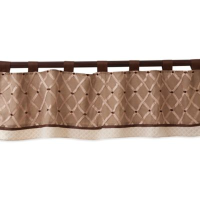 Lambs & Ivy® Oatmeal Cookie Window Valance