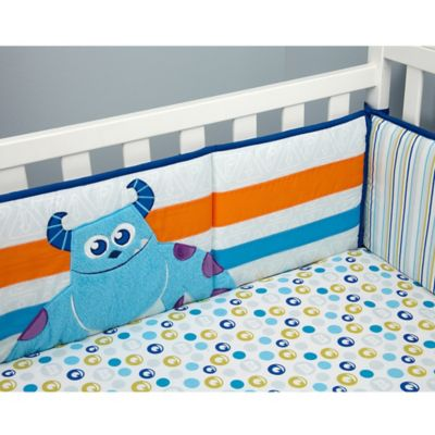 Disney® Monsters at Play Crib Bedding Collection > Disney® Monsters at Play 4-Piece Crib Bumper