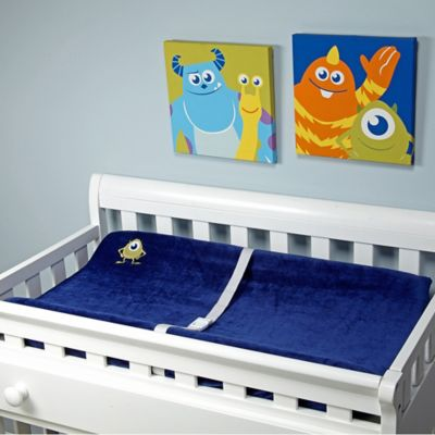 Disney® Monsters at Play Changing Pad Cover