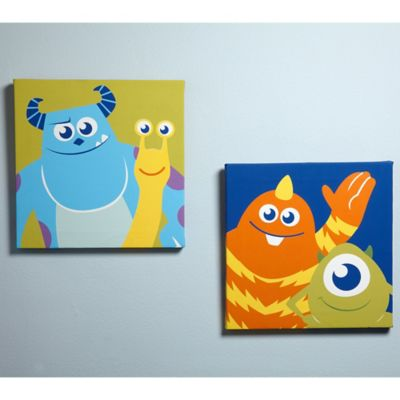 Disney® Monsters at Play 2-Piece Canvas Wall Art