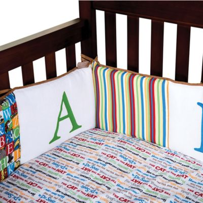 Dr. Seuss™ by Trend Lab® Alphabet Seuss Crib Bumper