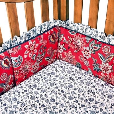 Waverly® Baby by Trend Lab® Charismatic 4-Piece Crib Bumper Set