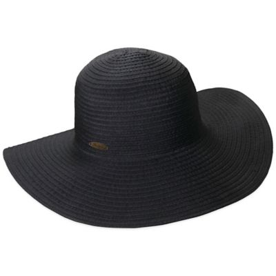Panama Jack Packable Ribbon Floppy Hat