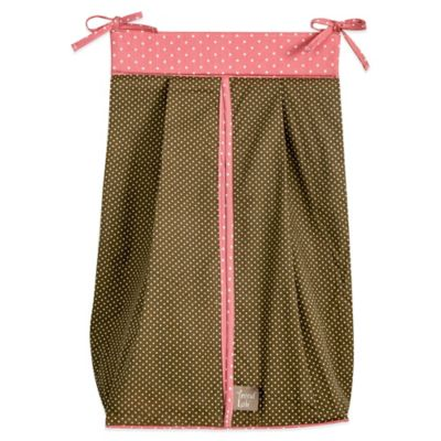 Trend Lab® Cocoa Coral Diaper Stacker
