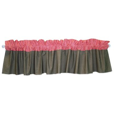 Trend Lab® Cocoa Coral Window Valance