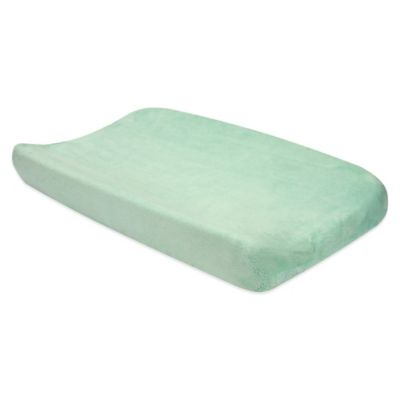 Cocoa Mint Changing Pad Cover