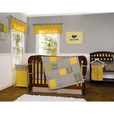 Gray Crib Bedding